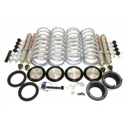 Range Rover P38 MKII Terrafirma Heavy Duty All-Terrain Shock Absorbers & Medium Load Springs Coil Conversion Kit 1994-2002