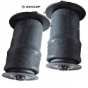 Front & Rear Range Rover P38 MKII Dunlop Air Suspension Springs & Clips 1994-2002