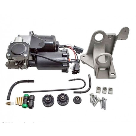 Hitachi Land Rover Discovery 3 Complete Air Suspension Compressor Pump with Fitting Kit