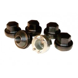 Five Steel Locking Wheel Nut Kit & Key for Defender, Discovery 1 and Classic Models