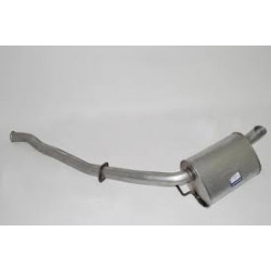 Range Rover P38 MKII Single Rear Exhaust Pipe 1995-2002